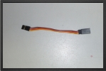 ACC 13055 : Jr Extention Lead, 10 Cm, Wire 0.30 mm2 - Jets radio-commandés - Aviation Design