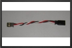 ACC 13559 : Futaba Extention Lead, 10 Cm, Wire 0.50 mm2 - Jets radio-commandés - Aviation Design