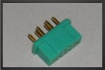 ACC 14141 : Multiplex Female Connector ,5 Pces - Jets radio-commandés - Aviation Design