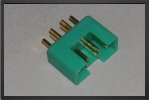 ACC 14142 : Multiplex Male Connector, 5 Pces - Jets radio-commandés - Aviation Design