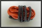 ACC 17080 : Silicone Wire Awg8, 6.03 mm² Black+red, 1+1 Meter - Jets radio-commandés - Aviation Design