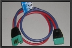 ADP 1127/30 : Multiplex Connector Extention Lead, 30 Cm, Wire 2.5mm2 Made By Powerbo - Jets radio-commandés - Aviation Design