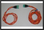 ADP 1128 : Multiplex Connector Extention Lead, 40 Cm / 120 Cm, Wire 0.25 mm² Made By Powerbo - Jets radio-commandés - Aviation Design