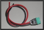 ADP 1207/30 : Multiplex Male Connector, 30 Cm Long, Wire 2.5 mm² Made By Powerbox - Jets radio-commandés - Aviation Design
