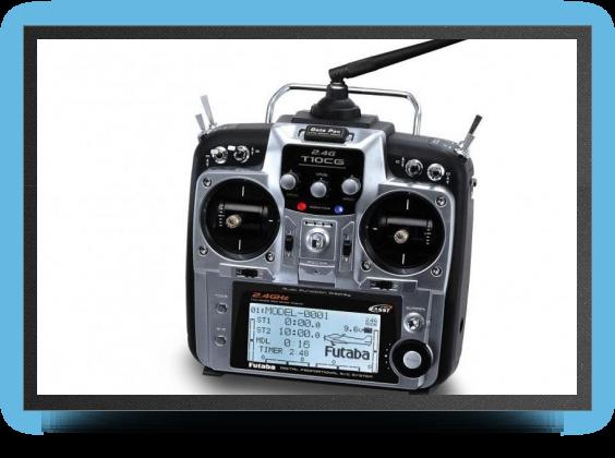 Jets - Futaba 10 CG radio 10 voies, 2.4 Ghz - Futaba 10 CG radio 10 voies, 2.4 Ghz - Aviation Design