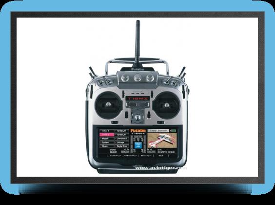 Jets - Futaba 18 MZ radio 12 voies, 2.4 Ghz - Futaba 18 MZ radio 12 voies, 2.4 Ghz - Aviation Design
