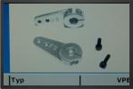 ACC SKH-FU1N : 1 Professionnal Aluminium Servo Arm,26.5mm, M2.5 Hole - Jets radio-commandés - Aviation Design