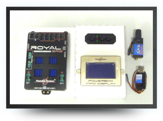 Jets - Royal srs powerbox with lcd screen and gps - Royal srs powerbox with lcd screen and gps - Aviation Design