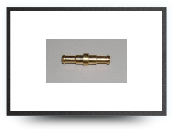 Jets - Brass connector for tubing 4mm x 3mm - Brass connector for tubing 4mm x 3mm - Aviation Design