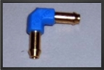 FES L-PK3 : L Brass Connector For Tubing 4 mm x 3 mm - Jets radio-commandés - Aviation Design