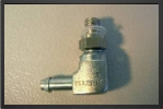 FES LCM3-PK2 : L Nepple Fitting Connector With M3 Threated For 3x 2 Tubing - Jets radio-commandés - Aviation Design