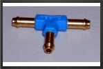 FES T-PK2 : T Brass Connector For Tubing 3 mm x 2 mm - Jets radio-commandés - Aviation Design