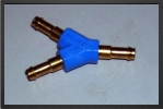 FES Y-PK3 : Y Brass Connector For Tubing 4 mm x 3 mm - Jets radio-commandés - Aviation Design