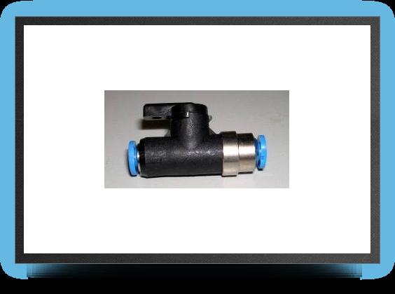 Jets - Shut off valve for 3mm x 4mm tubing - Shut off valve for 3mm x 4mm tubing - Aviation Design