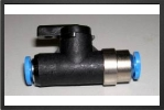 FES QHQS-4 : Shut Off Valve For 3 mm x 4 mm Tubing - Jets radio-commandés - Aviation Design