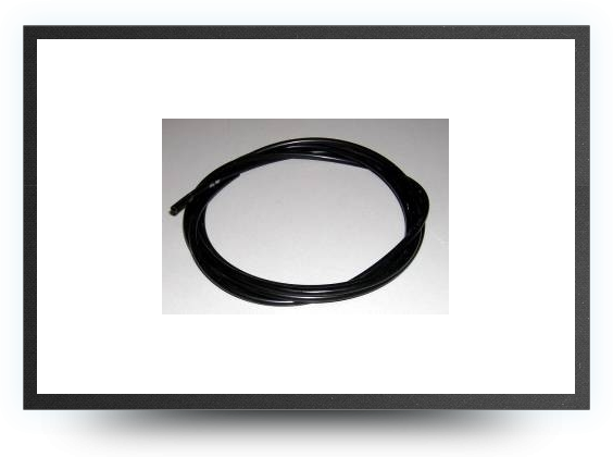 Jets - Festo tubing, flexible, black, 3 mm x 2 mm - Festo tubing, flexible, black, 3 mm x 2 mm - Aviation Design