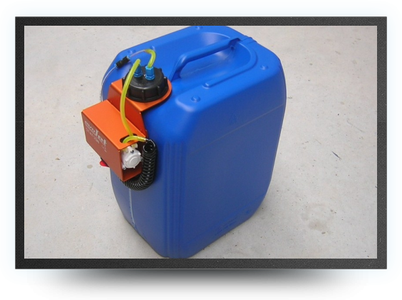 Jets - 20 liters fuel station including high flow pump and controller - 20 liters fuel station including high flow pump and controller - Aviation Design