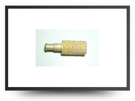 Jets - 9 mm Brass Clunk for 3 mm int. Tygon tubing - 9 mm Brass Clunk for 3 mm int. Tygon tubing - Aviation Design