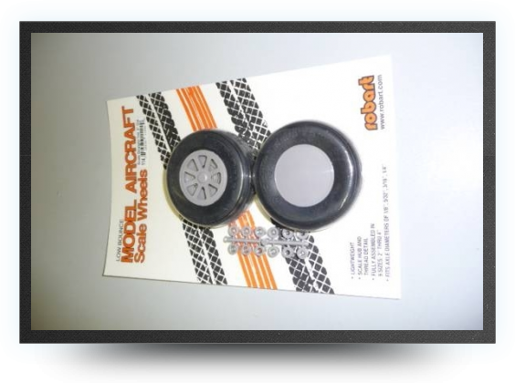 Jets - Scale straight tread wheelsdiameter : 3\'\' - 76mm - Scale straight tread wheelsdiameter : 3\'\' - 76mm - Aviation Design
