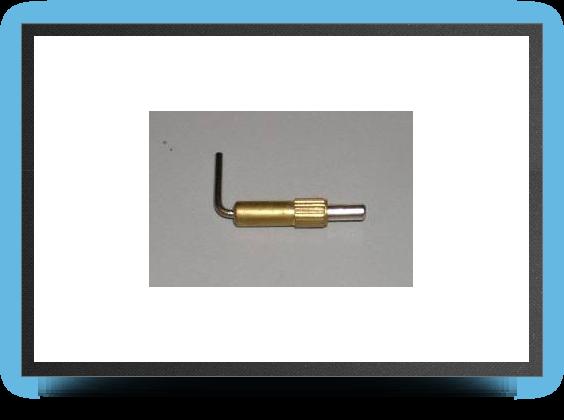 Jets - Brass hatch and canopy latch (small) - Brass hatch and canopy latch (small) - Aviation Design