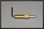 ACC 5760 : Brass Hatch And Canopy Latch (small) - Jets radio-commandés - Aviation Design