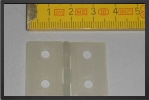 ACC 6380 : 10 x Flat Large Hinges 36 x 27 mm - Jets radio-commandés - Aviation Design