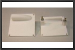ACC 7805 : 2 x Plastic Servo 60x60 mm Supports For Standard Size Servo - Jets radio-commandés - Aviation Design