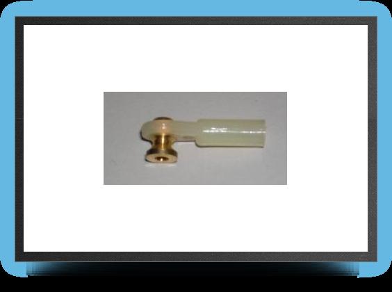Jets - 5 x M3 mm plastic ball link, screw M3 - 5 x M3 mm plastic ball link, screw M3 - Aviation Design