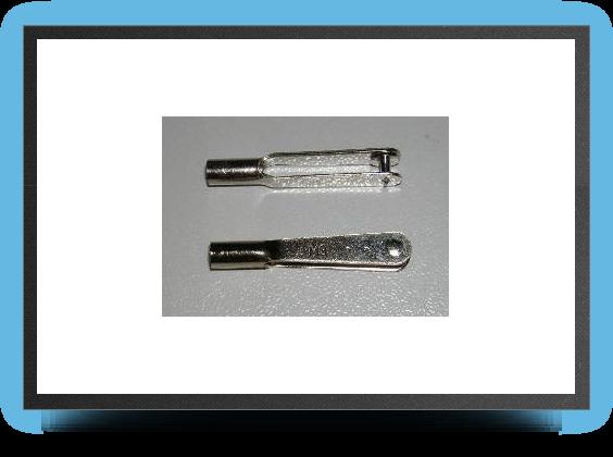 Jets - 5 x M3 mm steel link - 5 x M3 mm steel link - Aviation Design