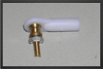 ACC 6105 : 5 x M2 mm Plastic Ball Link, Screw M2 - Jets radio-commandés - Aviation Design