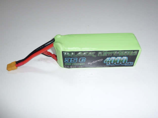 Mini Scorpion - Lipo battery, 4000 mah 35c 6s - 131,30€