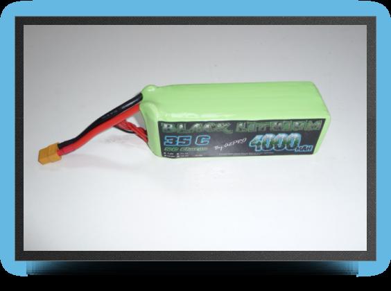Jets - Lipo battery, 4000 mah 35c 6s - Lipo battery, 4000 mah 35c 6s - Aviation Design