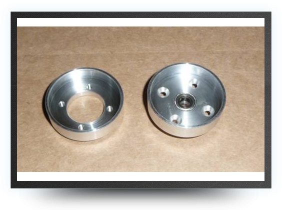 Jets - 1 aluminium front wheel hub - 1 aluminium front wheel hub - Aviation Design