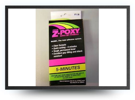 Jets - Z-poxy 5 minutes epoxy8 oz / 224 grammes - Z-poxy 5 minutes epoxy8 oz / 224 grammes - Aviation Design