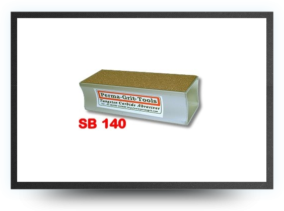 Jets - Sanding block<br />coarse one side and fine on the opposite<br />lenght 140 mm x 51 mm - Sanding block<br />coarse one side and fine on the opposite<br />lenght 140 mm x 51 mm - Aviation Design