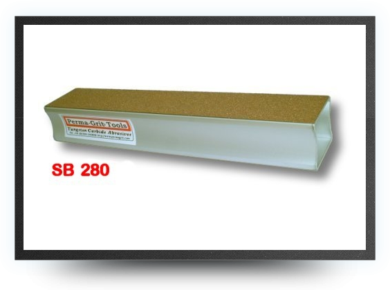 Jets - Sanding block<br />coarse one side and fine on the opposite<br />lenght 280 mm x 51 mm - Sanding block<br />coarse one side and fine on the opposite<br />lenght 280 mm x 51 mm - Aviation Design