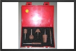 KT3 : Selection Of 6 Large Rotary Tools In A Box (6 mm Shaft) - Jets radio-commandés - Aviation Design