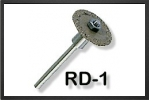 RD1 : Cutters Discs 19 mm Cutting Disc With A 3 mm Steel Arbor - Jets radio-commandés - Aviation Design
