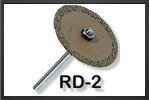 RD2 : Cutters Discs 32 mm Cutting Disc With A 3 mm Steel Arbor - Jets radio-commandés - Aviation Design