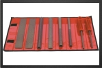 SET 8C : Selection Of 8 Hands Tools In A Velcro Fastening Tool Roll<br />coarse - Jets radio-command&#233;s - Aviation Design