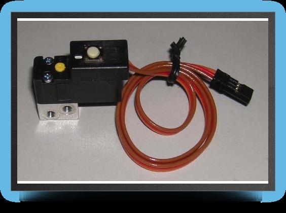 Jets - Electrovalve pneumatique Orbit pour train simple effet - Electrovalve pneumatique Orbit pour train simple effet - Aviation Design