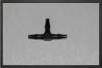 ADT 130 : 4 x Raccords En T Plastique - Jets radio-commandés - Aviation Design