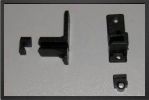 ACC 7801 : 2 x Supports Servo Plastique Ajustable - Jets radio-commandés - Aviation Design