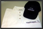 AD 002 L : Polo Aviation Design (blanc) Taille : L - Jets radio-commandés - Aviation Design