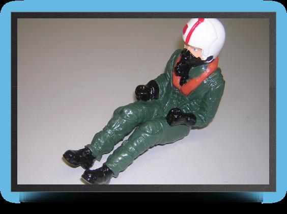 Jets - Pilote de jet us au 1/8 semi peint - Pilote de jet us au 1/8 semi peint - Aviation Design