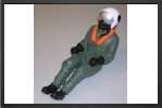 AT 053 : Pilote De Jet Au 1/6 Semi Peint 230 mm x 88 mm, 106 Grammes - Jets radio-commandés - Aviation Design
