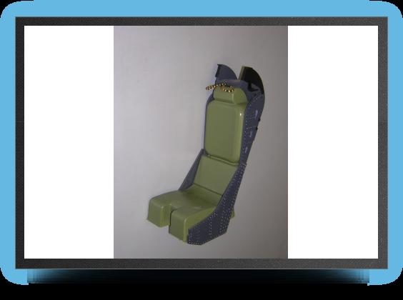 Jets - Kit siège éjectable Martin Baker MK6 au 1/4.5 non peint, 310mm x 145mm x 107mm - Kit siège éjectable Martin Baker MK6 au 1/4.5 non peint, 310mm x 145mm x 107mm - Aviation Design