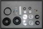 ADJ 703E - Roues + systÈme de freins avec Électro valve