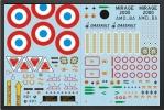 ADJ 715F - DÉcalques armÉe de l'air