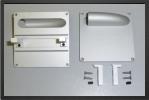 ADJ 720 - 4 x supports servo aluminium pour servo taille standard